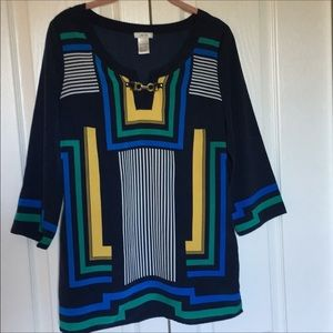 Cache Size S Top Blue Yellow Green